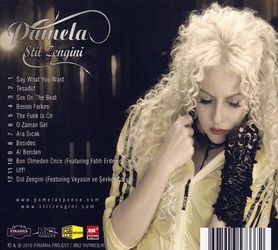 Pamela yeni albüm Stil Zengini 2010