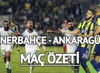 Ankaragücü Fenerbahçe maçı izle…